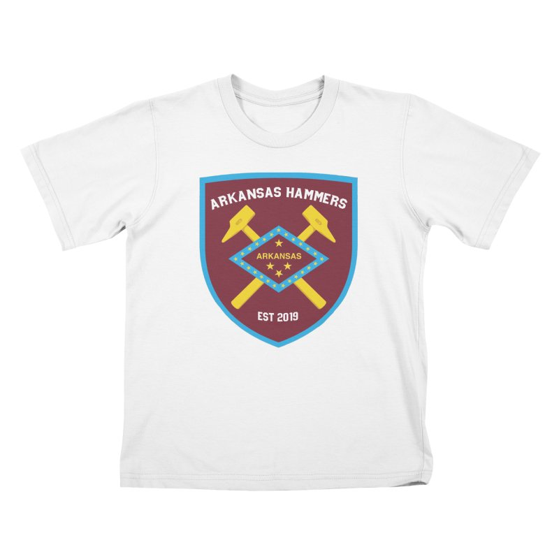 Arkansas Hammers Kids T-Shirt by American Hammers Official Team Store