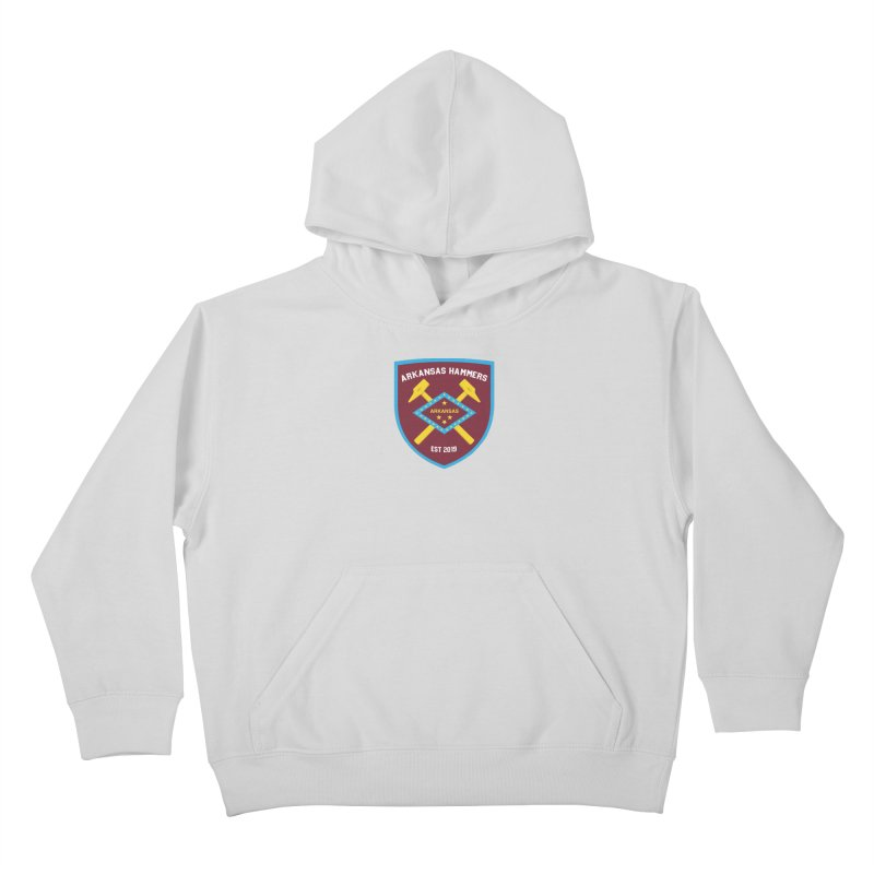 Arkansas Hammers Kids Pullover Hoody by American Hammers Official Team Store