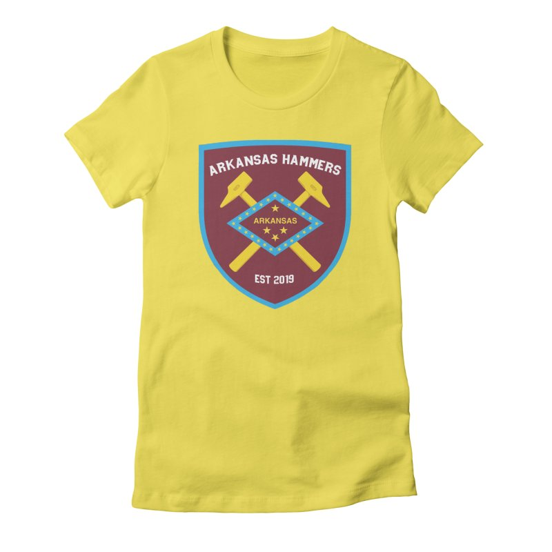 Arkansas Hammers Women's T-Shirt by American Hammers Official Team Store
