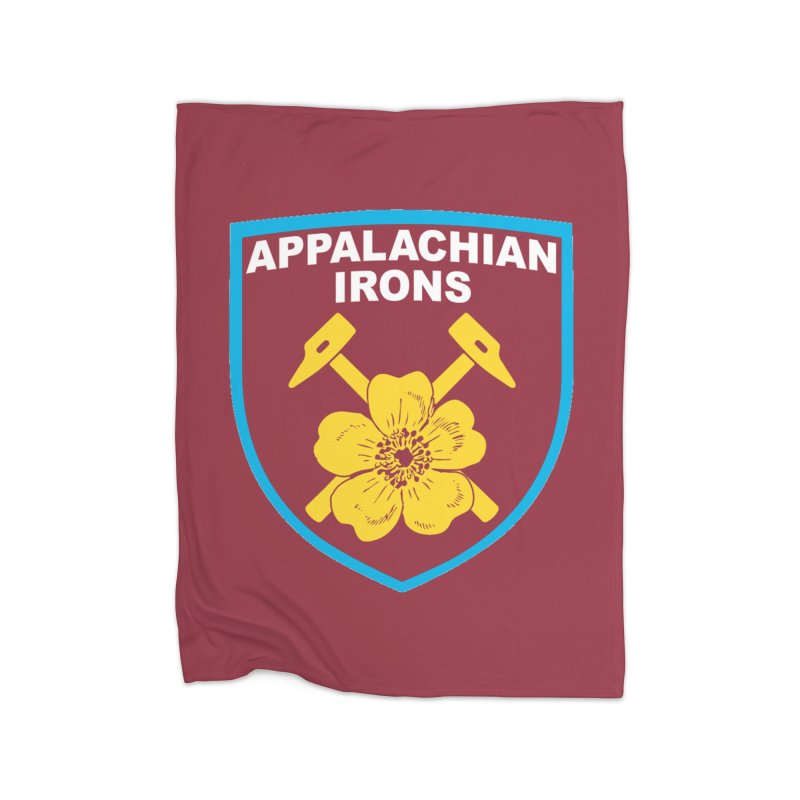 Appalachian Irons Home Blanket by American Hammers Official Team Store