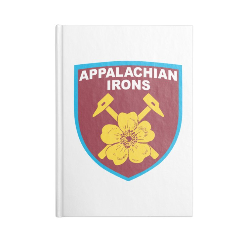 Appalachian Irons Accessories Notebook by American Hammers Official Team Store