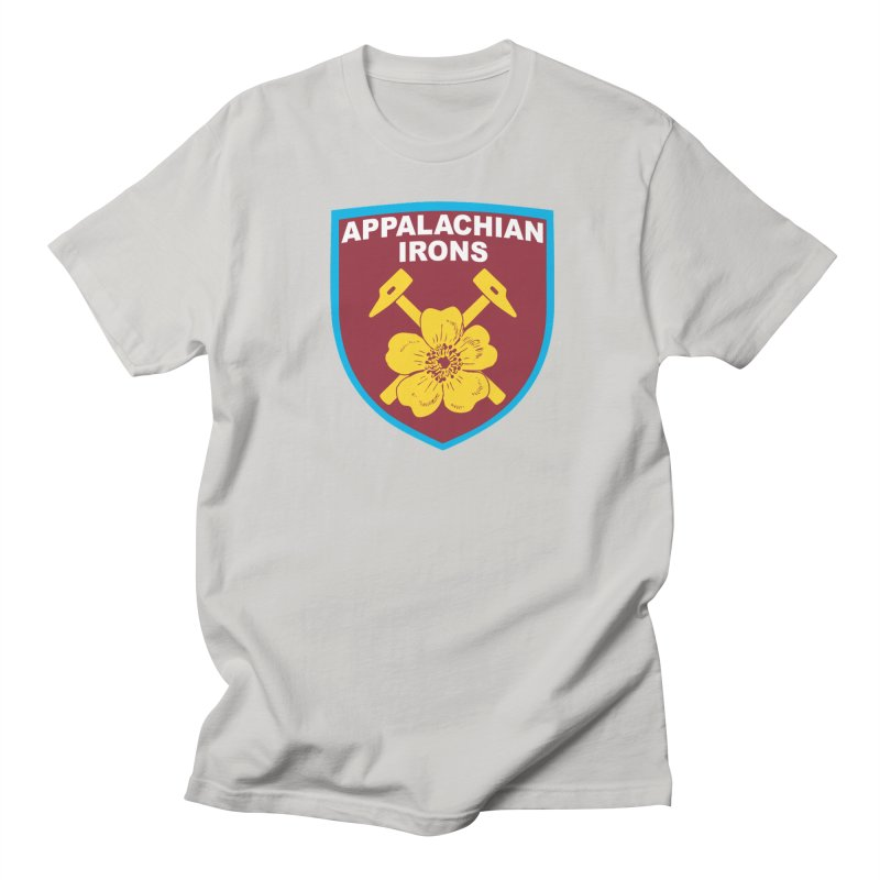 Appalachian Irons Men's T-Shirt by American Hammers Official Team Store