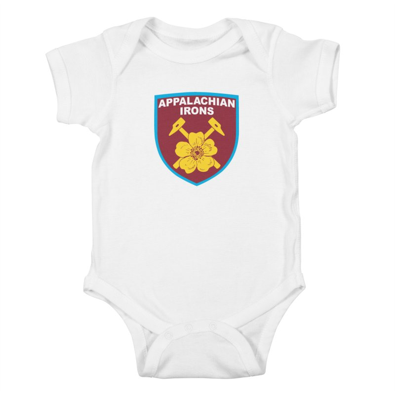 Appalachian Irons Kids Baby Bodysuit by American Hammers Official Team Store