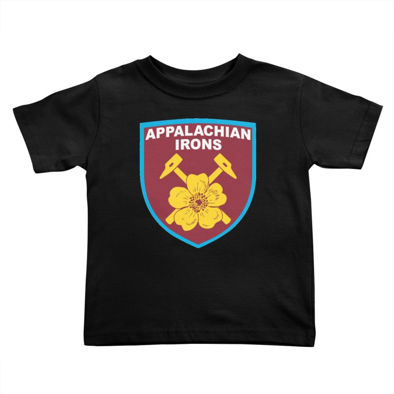 Appalachian Irons Kids Toddler T-Shirt by American Hammers Official Team Store