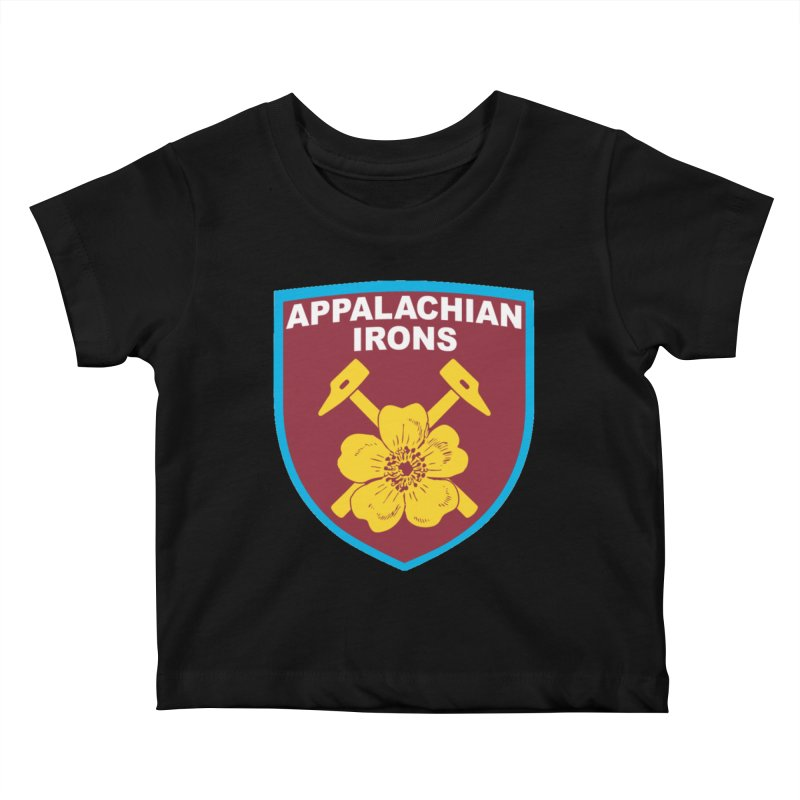 Appalachian Irons Kids Baby T-Shirt by American Hammers Official Team Store