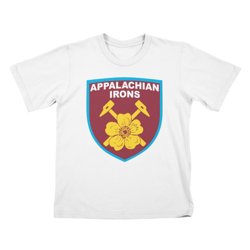 Appalachian Irons Kids T-Shirt by American Hammers Official Team Store