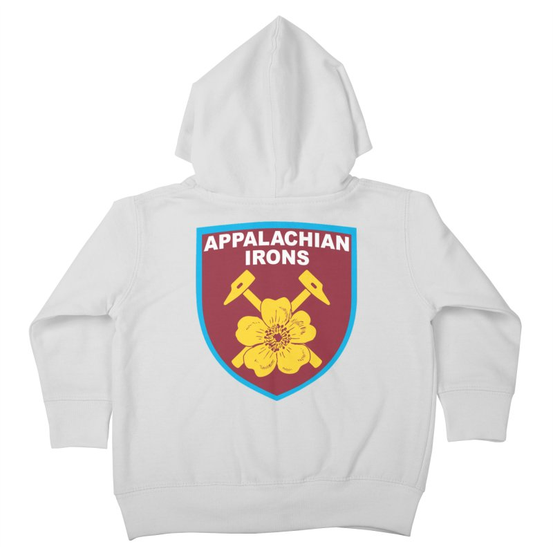 Appalachian Irons Kids Toddler Zip-Up Hoody by American Hammers Official Team Store