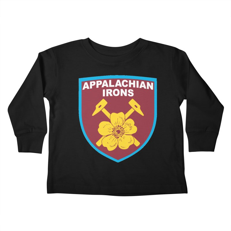 Appalachian Irons Kids Toddler Longsleeve T-Shirt by American Hammers Official Team Store