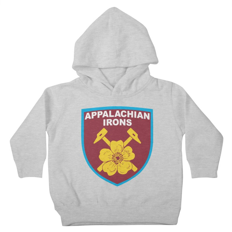 Appalachian Irons Kids Toddler Pullover Hoody by American Hammers Official Team Store