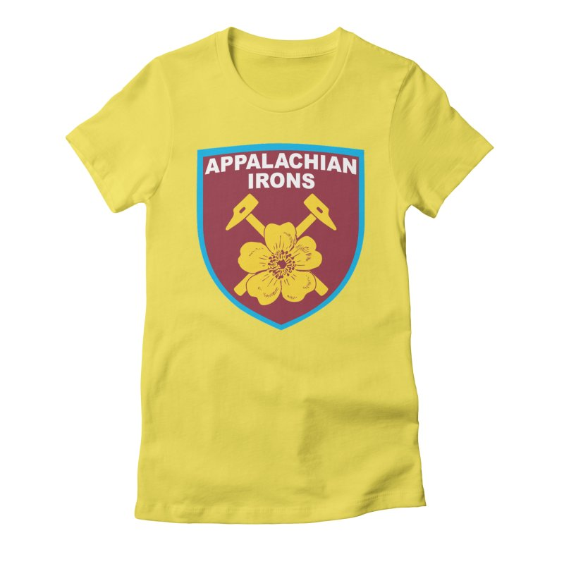 Appalachian Irons Women's T-Shirt by American Hammers Official Team Store
