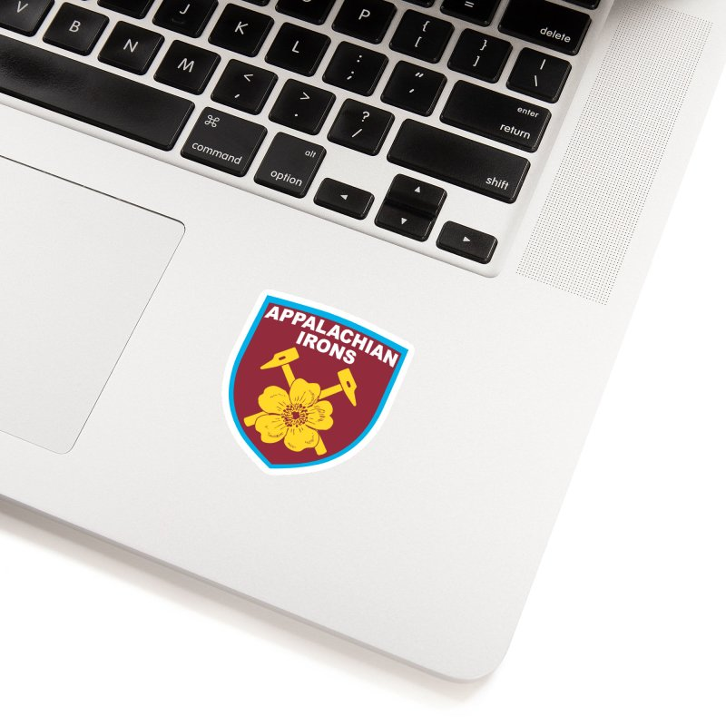 Appalachian Irons Accessories Sticker by American Hammers Official Team Store