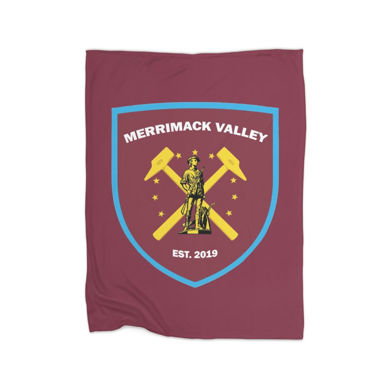 Merrimack Valley Home Blanket by American Hammers Official Team Store