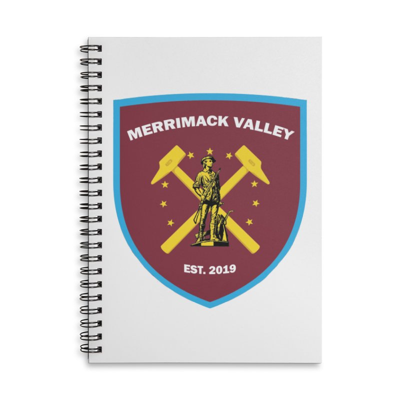 Merrimack Valley Accessories Notebook by American Hammers Official Team Store