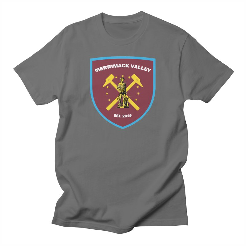 Merrimack Valley Men's T-Shirt by American Hammers Official Team Store
