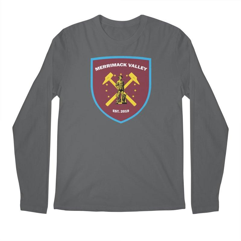 Merrimack Valley Men's Longsleeve T-Shirt by American Hammers Official Team Store
