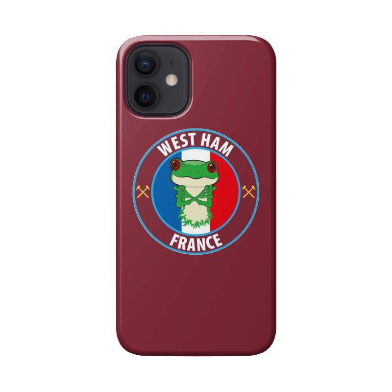 West Ham France Accessories Phone Case by American Hammers Official Team Store