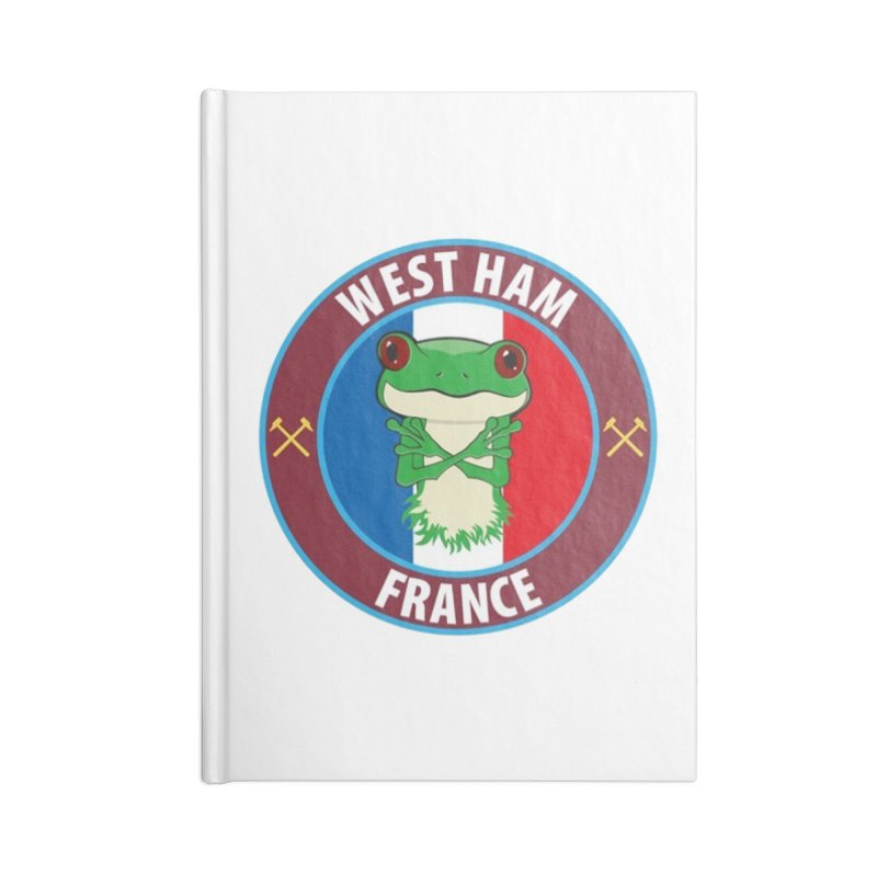 West Ham France Accessories Notebook by American Hammers Official Team Store