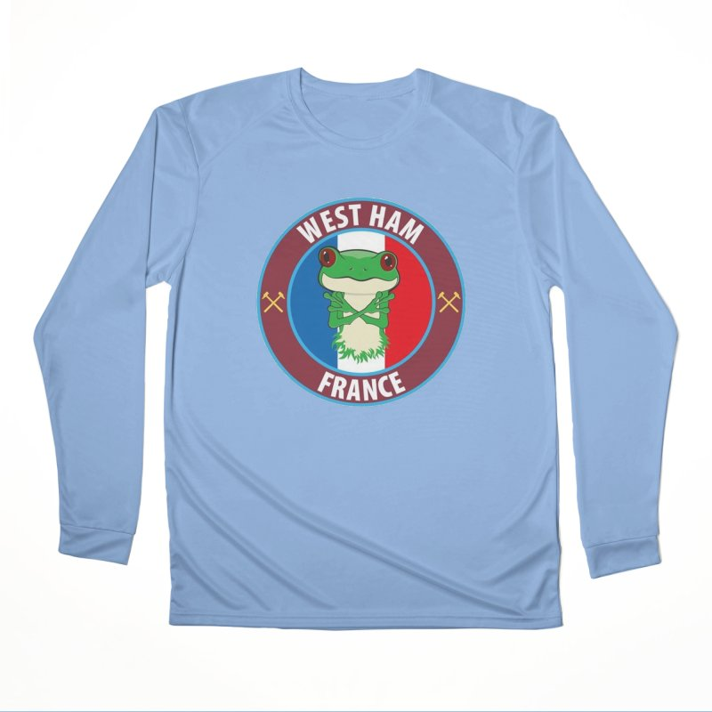 West Ham France Women's Longsleeve T-Shirt by American Hammers Official Team Store
