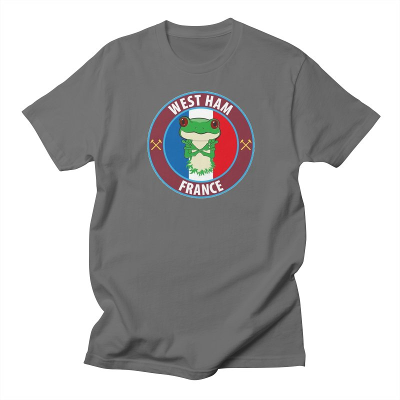 West Ham France Men's T-Shirt by American Hammers Official Team Store