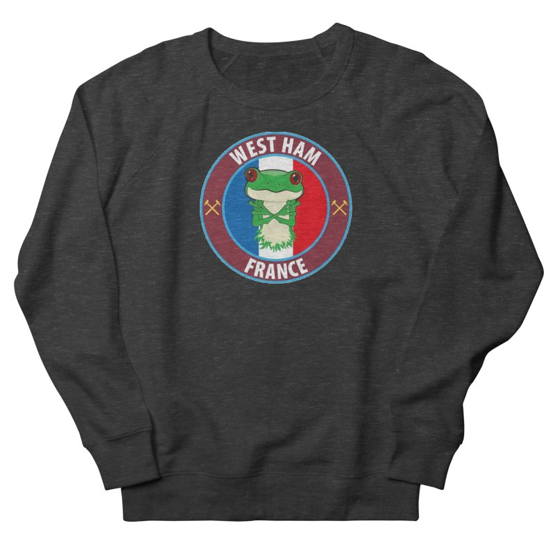 West Ham France Women's Sweatshirt by American Hammers Official Team Store