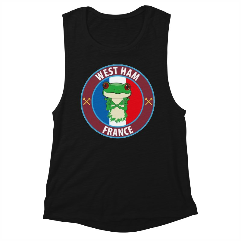 West Ham France Women's Tank by American Hammers Official Team Store