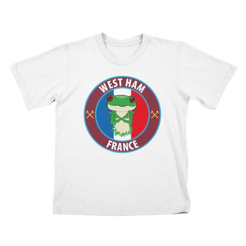 West Ham France Kids T-Shirt by American Hammers Official Team Store