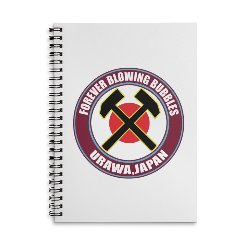 Urawa (Japan) Hammers Accessories Notebook by American Hammers Official Team Store