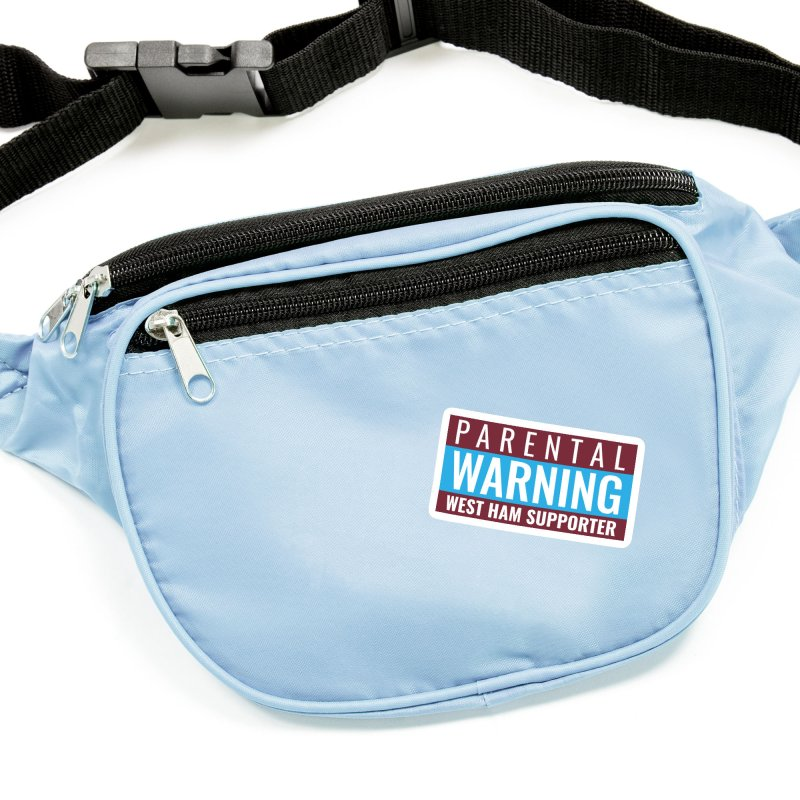 Parental Warning West Ham Supporter Accessories Sticker by American Hammers Official Team Store