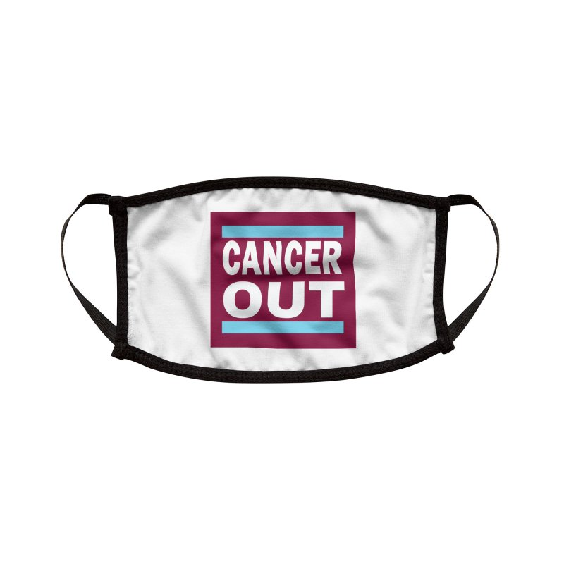 Cancer Out Accessories Face Mask by American Hammers Official Team Store