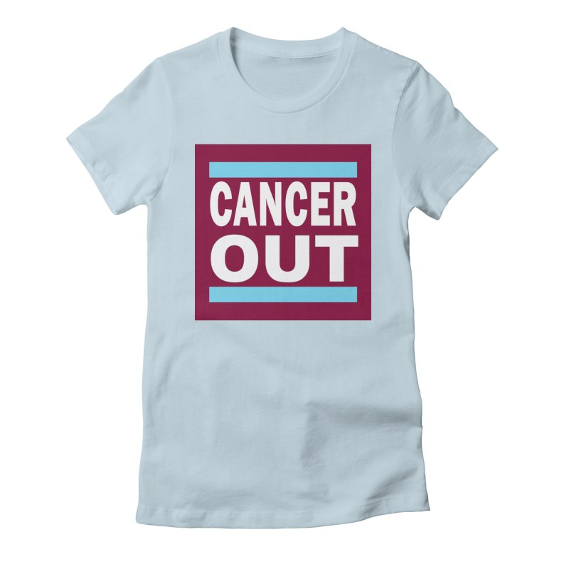 Cancer Out Women's T-Shirt by American Hammers Official Team Store