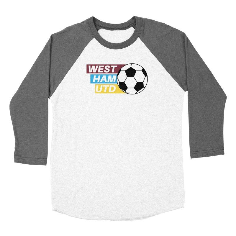 West Ham Utd Soccer Ball Women's Longsleeve T-Shirt by American Hammers Official Team Store