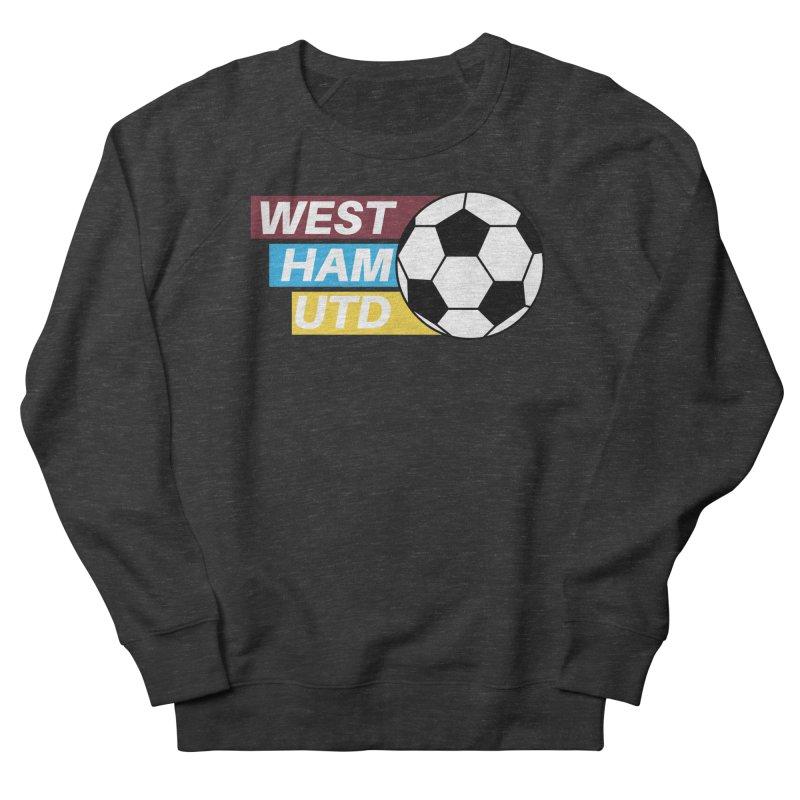 West Ham Utd Soccer Ball Women's Sweatshirt by American Hammers Official Team Store