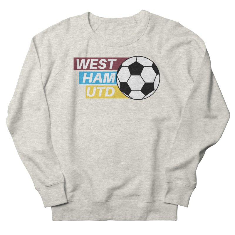 West Ham Utd Soccer Ball Men's Sweatshirt by American Hammers Official Team Store