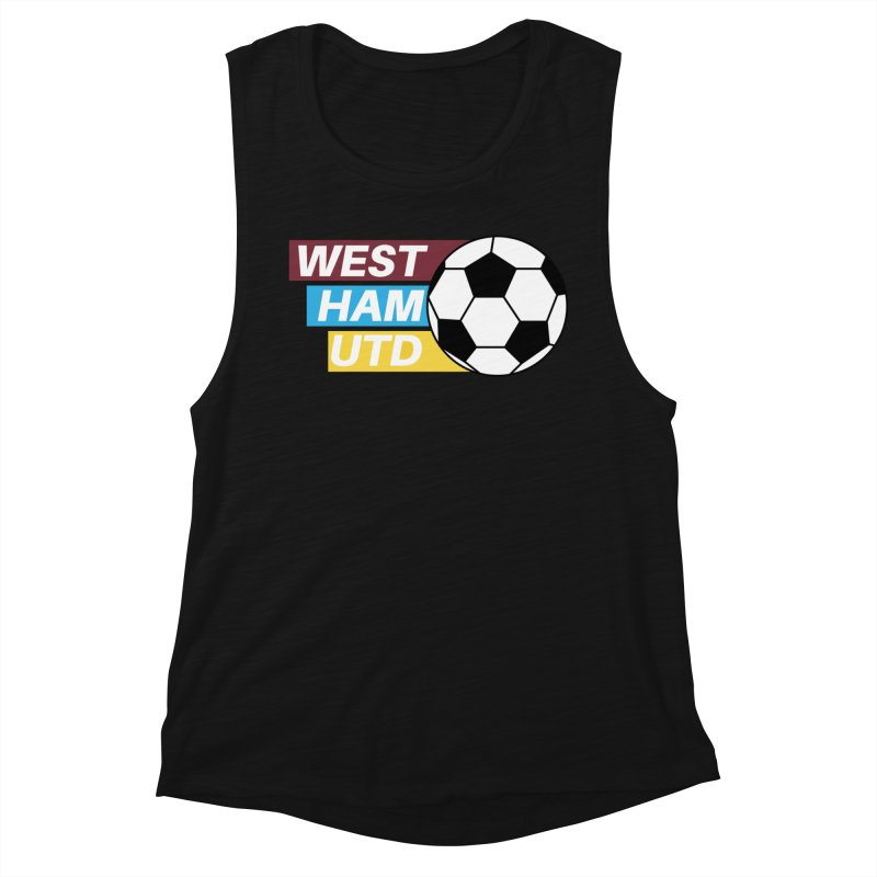 West Ham Utd Soccer Ball Women's Tank by American Hammers Official Team Store