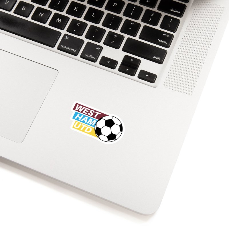 West Ham Utd Soccer Ball Accessories Sticker by American Hammers Official Team Store