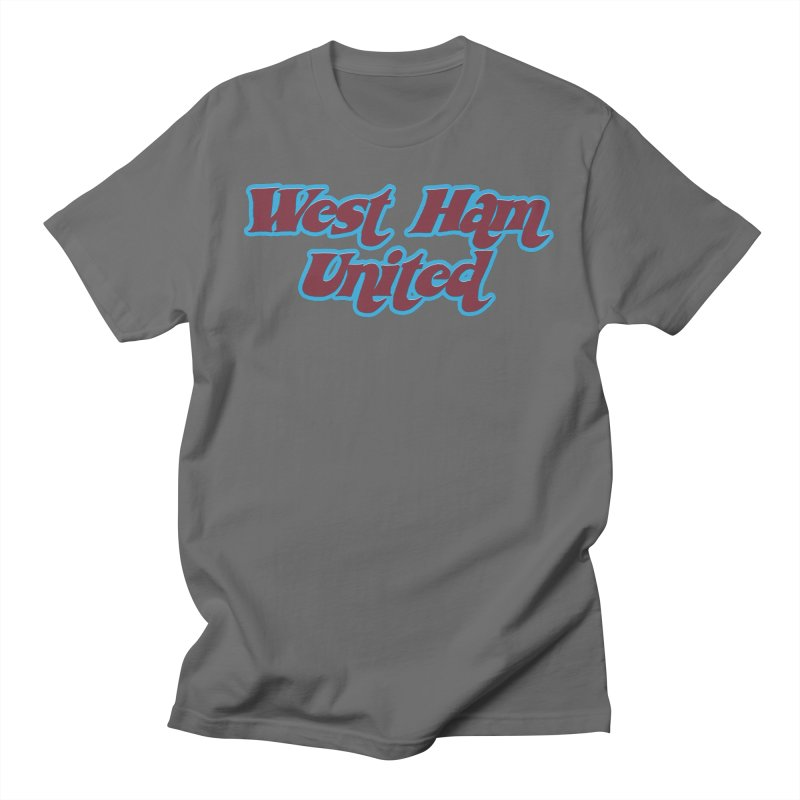 1970's West Ham Men's T-Shirt by American Hammers Official Team Store