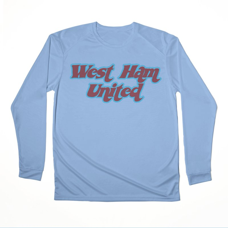 1970's West Ham Women's Longsleeve T-Shirt by American Hammers Official Team Store