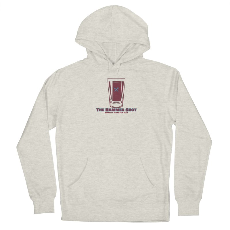 The Hammer Shot Women's Pullover Hoody by American Hammers Official Team Store