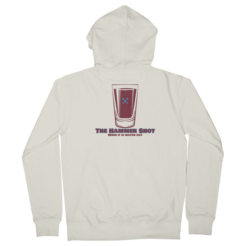 The Hammer Shot Women's Zip-Up Hoody by American Hammers Official Team Store