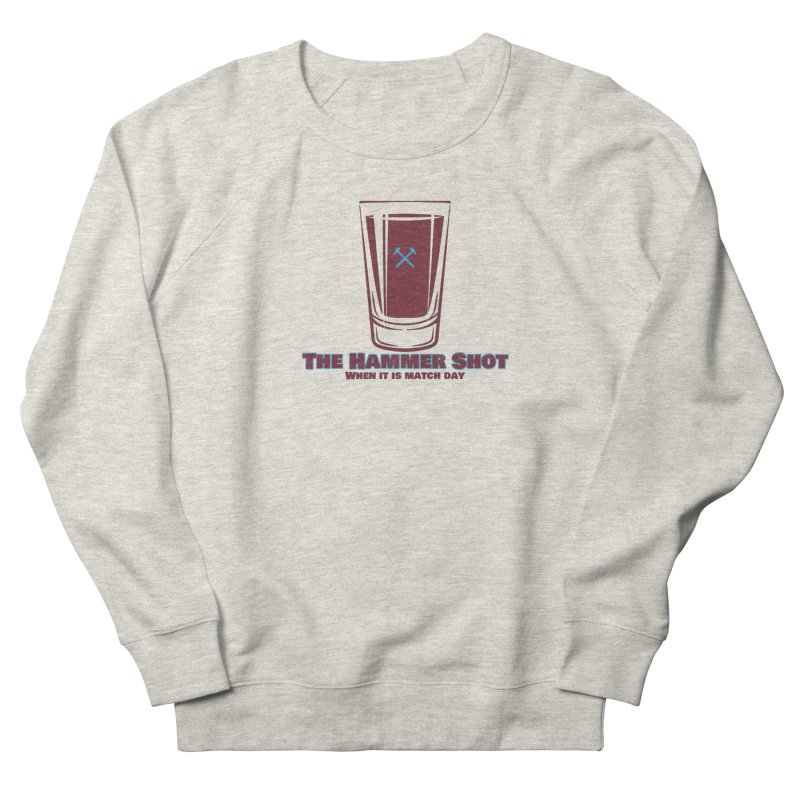 The Hammer Shot Women's Sweatshirt by American Hammers Official Team Store