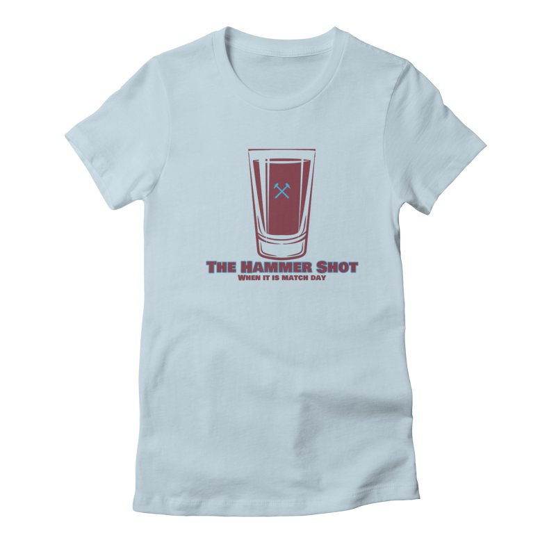 The Hammer Shot Women's T-Shirt by American Hammers Official Team Store