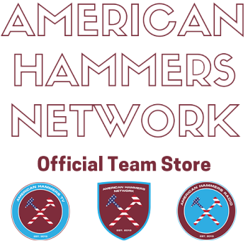 American Hammers Official Team Store Logo