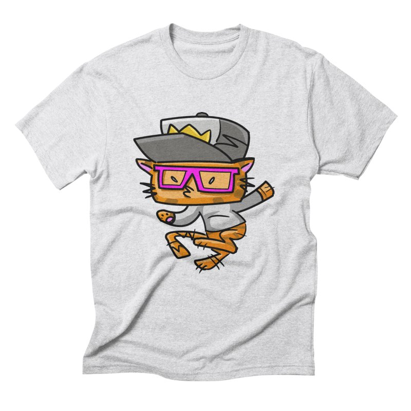 ALLEY CAT Men's Triblend T-shirt by Alero Artist Shop
