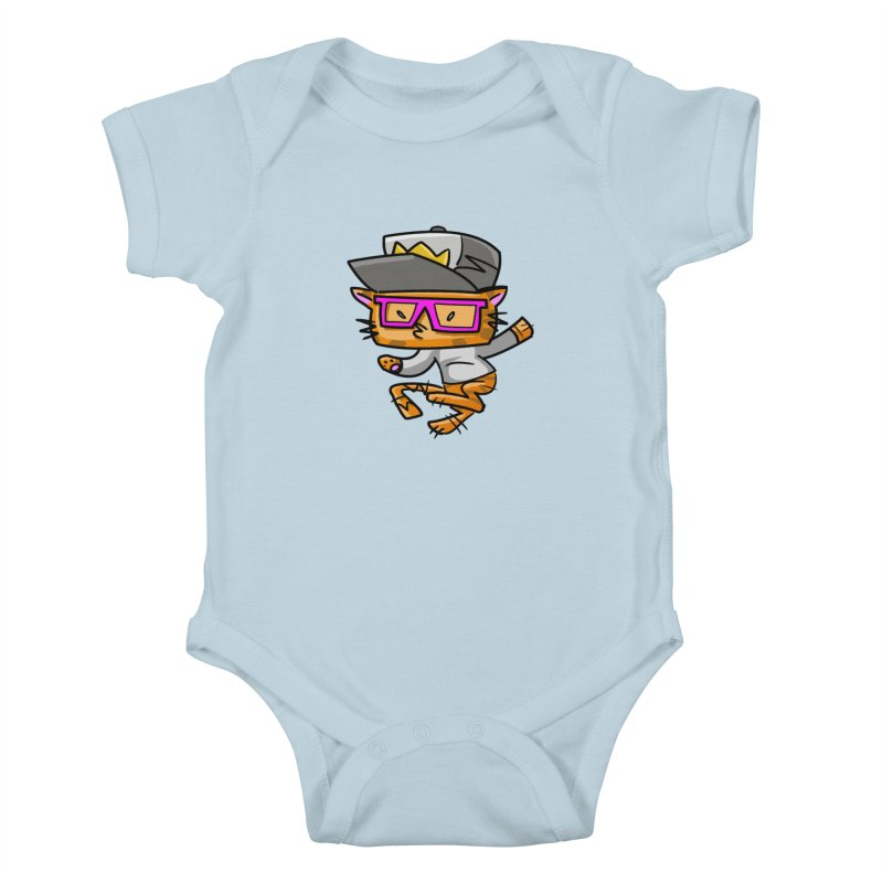 ALLEY CAT Kids Baby Bodysuit by Alero Artist Shop