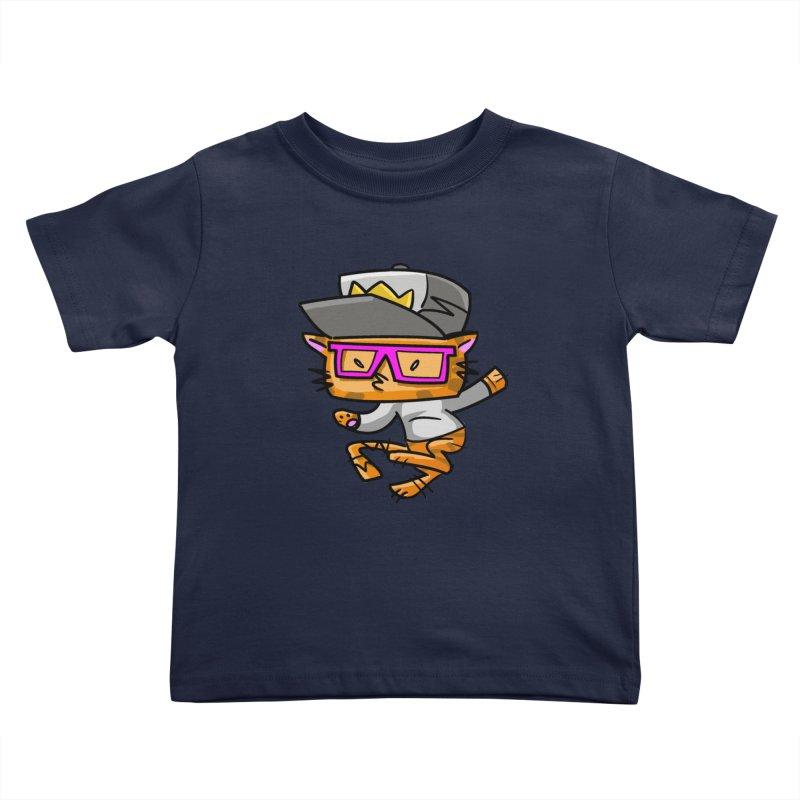 ALLEY CAT Kids Toddler T-Shirt by Alero Artist Shop