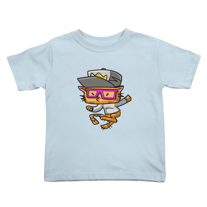 ALLEY CAT Kids Toddler T-Shirt by Alero Artist Shop