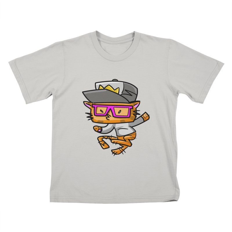 ALLEY CAT Kids T-Shirt by Alero Artist Shop
