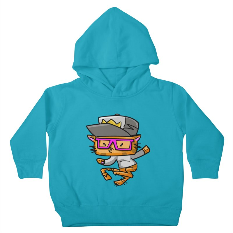 ALLEY CAT Kids Toddler Pullover Hoody by Alero Artist Shop