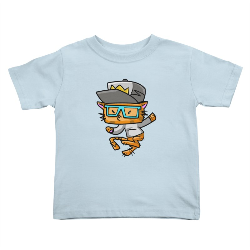 ALLEY CAT BLUES Kids Toddler T-Shirt by Alero Artist Shop