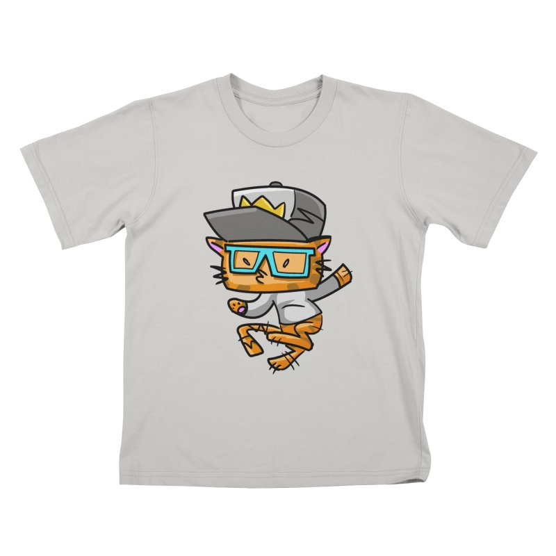 ALLEY CAT BLUES Kids T-Shirt by Alero Artist Shop